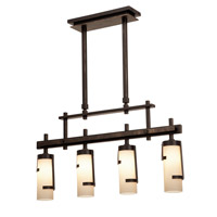 Kalco Lighting Emsworth 4 Light Island Light in Tawny Port 3016TP