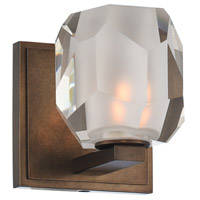 Kalco 302831VBZ Regent LED 5 inch Vintage Bronze Vanity Light Wall Light