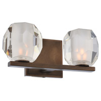Kalco 302832VBZ Regent LED 11 inch Vintage Bronze Bath Vanity Wall Light