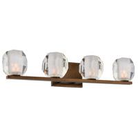 Kalco 302834VBZ Regent LED 25 inch Vintage Bronze Vanity Light Wall Light