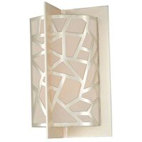 Miramar 2 Light 8 inch Rose Silver Wall Sconce Wall Light