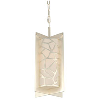 Miramar 1 Light 9 inch Rose Silver Mini Pendant Ceiling Light