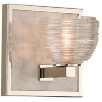 Polished Nickel Marble Bathroom Vanity Lights