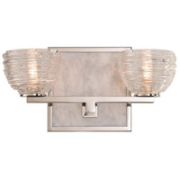 Bianco LED 12 inch Polished Nickel Vanity Light Wall Light