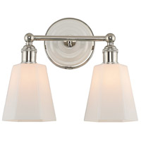 Kalco 305032PN Greenwich 2 Light 13 inch Polished Nickel Vanity Light Wall Light