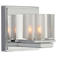 Kalco 306431CH Naples 1 Light 5 inch Chrome Vanity Light Wall Light