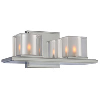 Kalco 306432CH Naples LED 13 inch Chrome Bath Vanity Wall Light