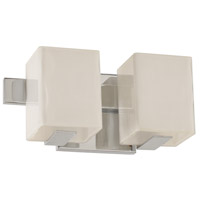 Kalco 307532CH Catalina LED 12 inch Chrome Bath Vanity Wall Light photo thumbnail