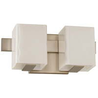 Kalco 307532SN Catalina LED 12 inch Satin Nickel Bath Vanity Wall Light