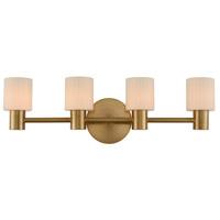 Kalco 308434WB Harlowe LED 26 inch Winter Brass Bath Vanity Wall Light