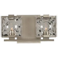 Kalco 308632SN Norwalk 2 Light 12 inch Satin Nickel Vanity Light Wall Light