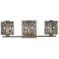 Kalco 308633SN Norwalk 3 Light 19 inch Satin Nickel Vanity Light Wall Light