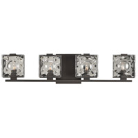 Kalco 308634BZ Norwalk 4 Light 26 inch Bronze Vanity Light Wall Light
