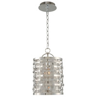 Bridgeport 1 Light 7 inch Brushed Stainless Steel Mini Pendant Ceiling Light