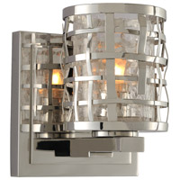 Crackle Glass Bridgeport Bathroom Vanity Lights