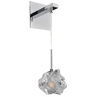 Kalco Lighting Azure 1 Light Wall Bracket in Chrome 309620CH