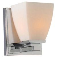 Kalco 310631CH Huntington 1 Light 5 inch Chrome Vanity Light Wall Light