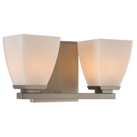 Kalco 310632SN Huntington 2 Light 11 inch Satin Nickel Vanity Light Wall Light