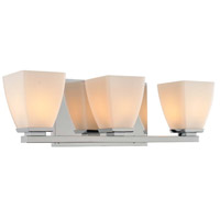 Huntington 3 Light 19 inch Chrome Vanity Light Wall Light