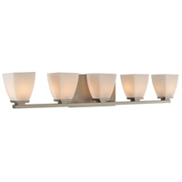 Huntington 5 Light 33 inch Satin Nickel Vanity Light Wall Light