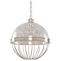 Kalco 311352PN Montauk 1 Light 12 inch Polished Nickel Pendant Ceiling Light
