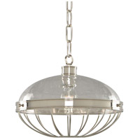 Montauk 1 Light 14 inch Polished Nickel Pendant Ceiling Light
