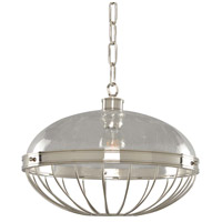Montauk 1 Light 16 inch Polished Nickel Pendant Ceiling Light