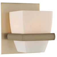 Malibu 1 Light 5 inch Brushed Bronze Vanity Light Wall Light