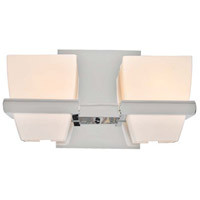 Malibu 2 Light 10 inch Chrome Vanity Light Wall Light