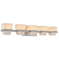 Malibu 5 Light 29 inch Chrome Vanity Light Wall Light