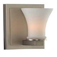 Kalco 312031SN Morro Bay 1 Light 5 inch Satin Nickel Vanity Light Wall Light