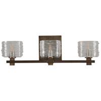 Kalco 312133VBZ Clearwater LED 21 inch Vintage Bronze Bath Vanity Wall Light