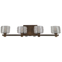 Kalco 312134VBZ Clearwater 4 Light 29 inch Vintage Bronze Vanity Light Wall Light