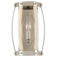 Kalco 312520PN Bradbury 1 Light 8 inch Polished Nickel ADA Wall Sconce Wall Light