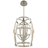 Kalco 312551PN Bradbury 3 Light 15 inch Polished Nickel Pendant Ceiling Light