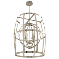Kalco 312552PN Bradbury 4 Light 24 inch Polished Nickel Pendant Ceiling Light