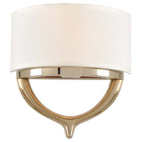 Bombay 2 Light 12 inch Champagne Gold Wall Bracket Wall Light