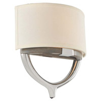 Bombay 2 Light 12 inch Chrome Wall Bracket Wall Light