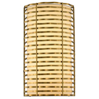 Kalco 312720VBR Paloma LED 8 inch Vintage Brass ADA Wall Sconce Wall Light
