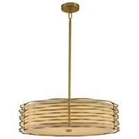 Kalco 312752VBR Paloma LED 25 inch Vintage Brass Pendant Ceiling Light