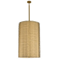 Paloma LED 25 inch Vintage Brass Foyer Ceiling Light