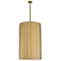 Kalco 312753VBR Paloma LED 25 inch Vintage Brass Foyer Ceiling Light