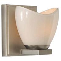 Kalco 313031SN Vero LED 6 inch Satin Nickel Bath Vanity Wall Light