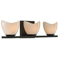 Vero 3 Light 20 inch English Bronze Vanity Light Wall Light