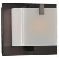 Kalco 313231BBN Meridian 1 Light 6 inch Brushed Black Nickel Vanity Light Wall Light
