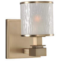 Destin 1 Light 5 inch Brushed Bronze Vanity Light Wall Light