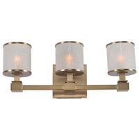 Destin 3 Light 19 inch Brushed Bronze Vanity Light Wall Light