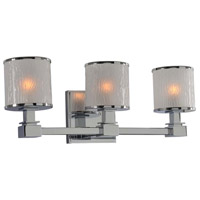 Chrome Destin Bathroom Vanity Lights