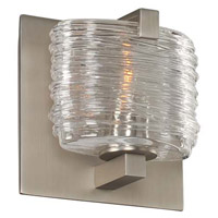 Kalco 313731SN South Bay 1 Light 5 inch Satin Nickel Vanity Light Wall Light