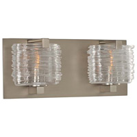 Kalco 313732SN South Bay 2 Light 12 inch Satin Nickel Vanity Light Wall Light